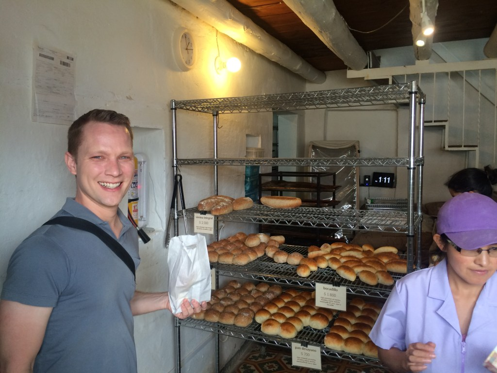 Kevin and I could not get enough of this bread. Astral bakery is located right off the main square, across from