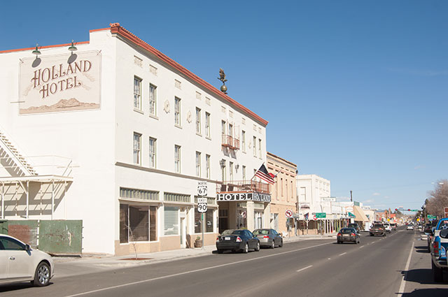 First stop: sleepy Alpine, Texas home to a few good coffee shops and art galleries