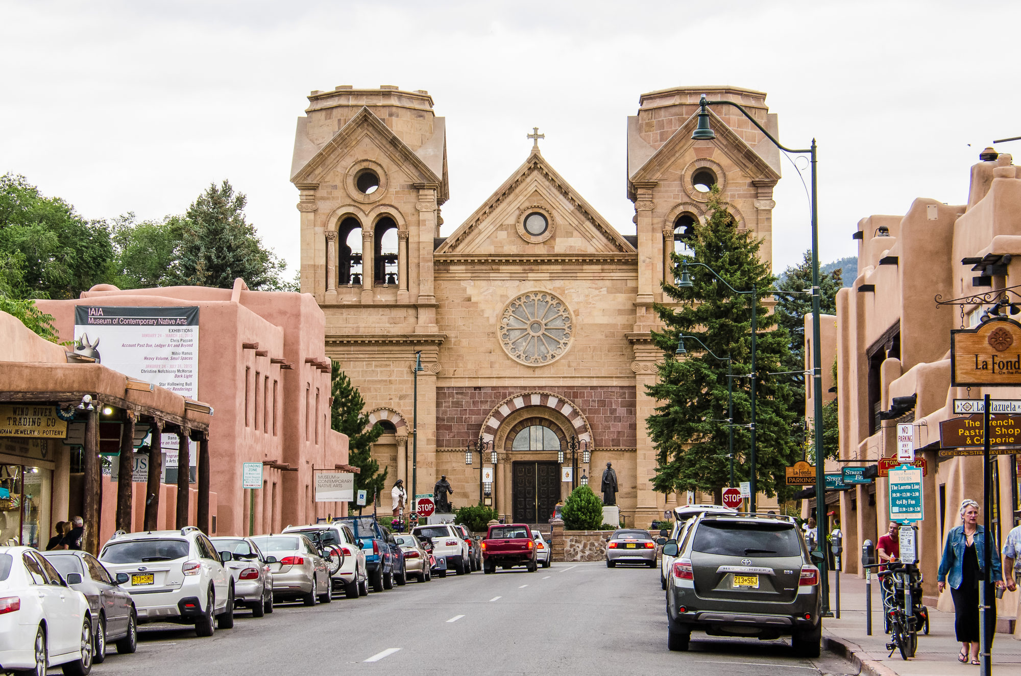 Old Town Santa Fe >> Road Trip Adventure Best Stops From Albuquerque To Santa Fe