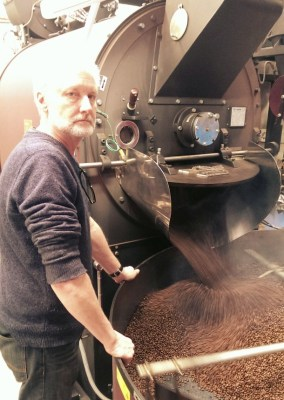 Geoff our master roaster