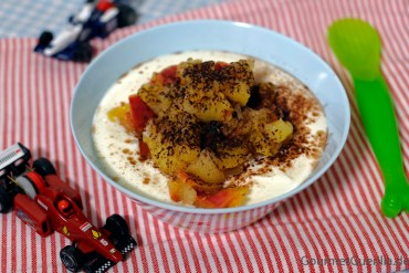 Joghurt mit Apfelkompott |GourmetGuerilla.de