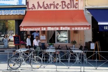 Restaurant La Marie Belle Hafen Nizza