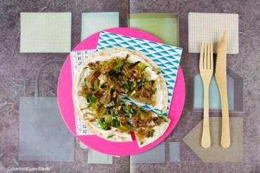 Blitzschnelle 4-Zwiebel-Flammkuchen #rezept #gourmetguerilla