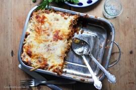 Makkaroni-Lasagne a la Mama (und ganz ohne Tüte) #rezept #gourmetguerilla #familienessen