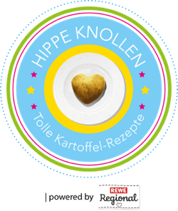 Badge Event Hippe Knollen Kartoffelrezepte GourmetGuerilla