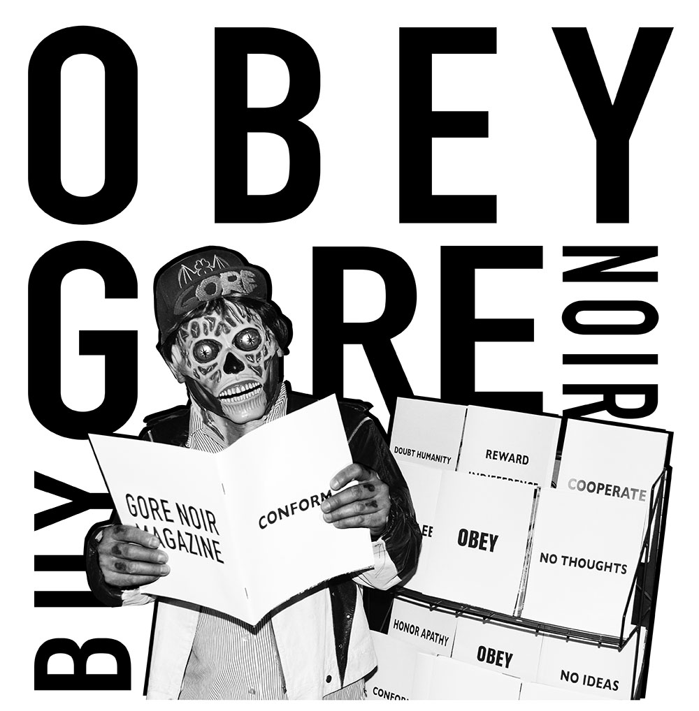 Obey Gore Noir