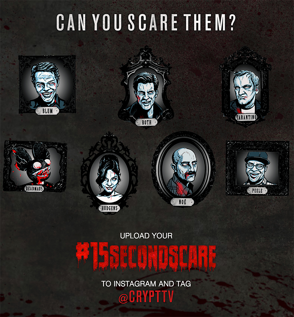 @CryptTV #15SecondScare contest