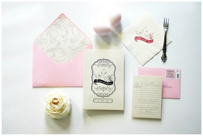 Storybook Invitations Gourmet En Story Book Wedding Invitation Monicamarmolfo Image Collections