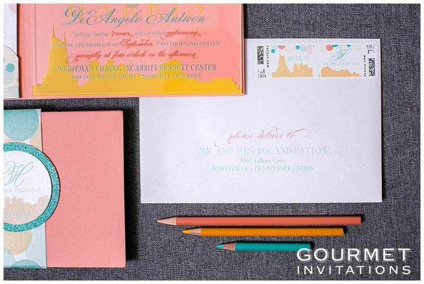 Lucite Wedding Invitations 0001