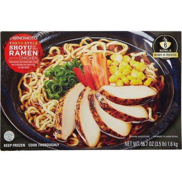 Ajinomoto Tokyo Style Shoyu Ramen with Chicken