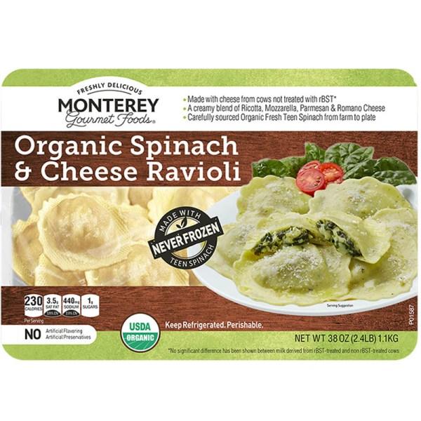 Monterey Organic Spinach & Cheese Ravioli