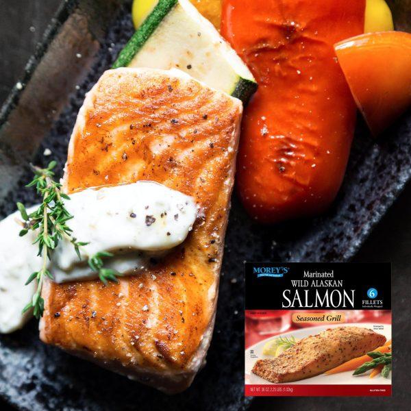 Morey's Wild Alaskan Salmon Feature