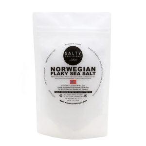 Norwegian Flake Sea Salt Pouch White BG