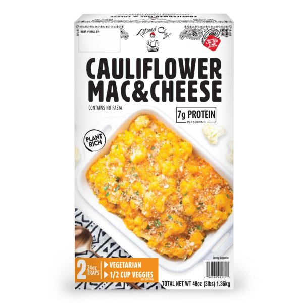 Tattooed Chef Cauliflower Mac & Cheese Front 2