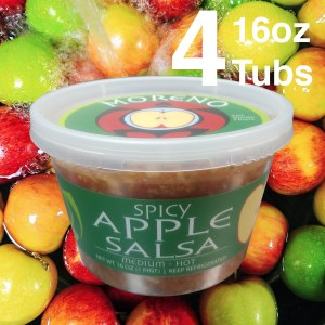Moreno Salsa Apple Salsa Feature V2 Square 4 Tubs