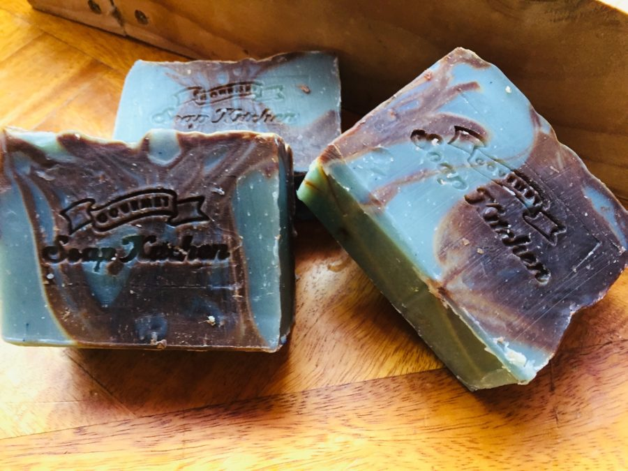 Chocolate And Mint Real Chocolate Soap Gourmet Soap Kitchen