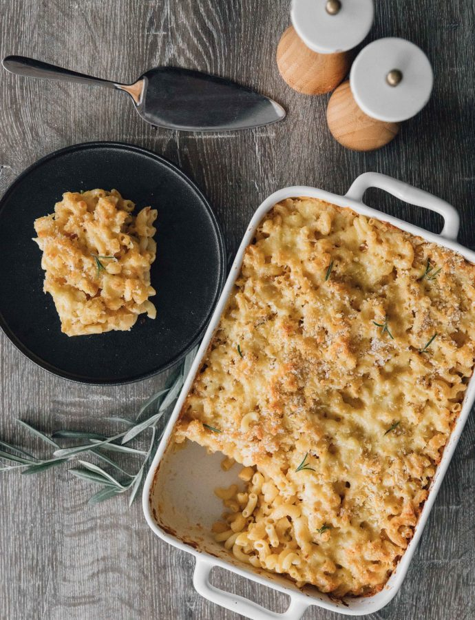 Baked Mac and Cheese (Macaroni Pie)- Barbados