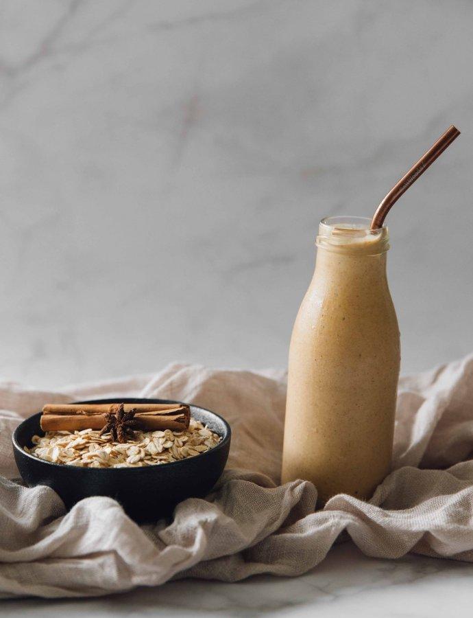 Spiced Oat Milk Smoothie (Jugo De Avena)- Dominican Republic