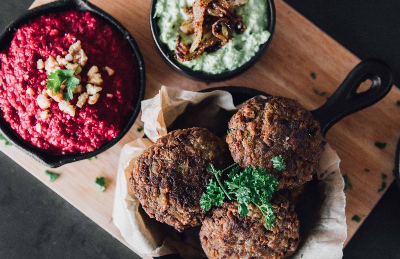Egyptian-Style Fava Bean Falafel (Ta'meya)