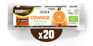 Barre Gourmiz' : orange-amandes-cacao