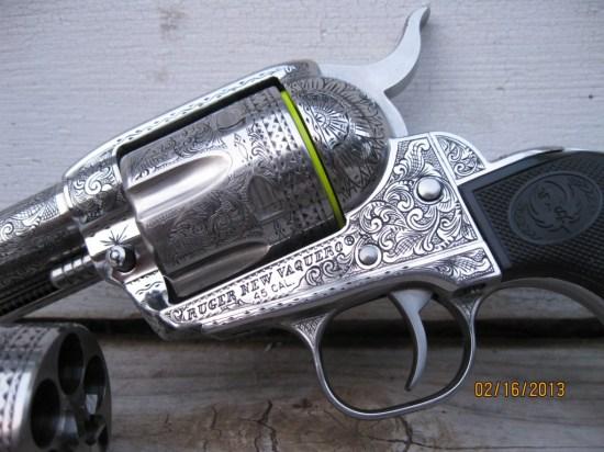 Engraved Vaquero 03