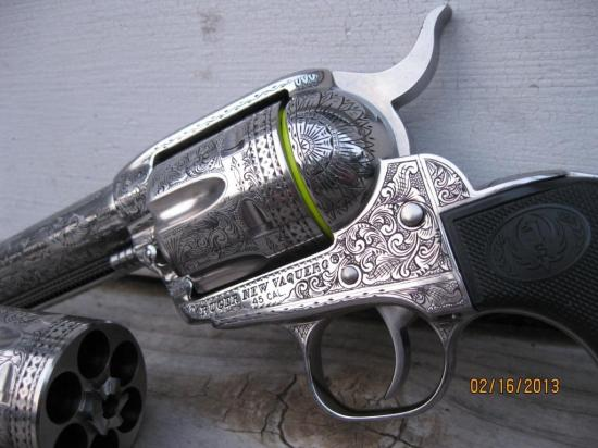 Engraved Vaquero 04