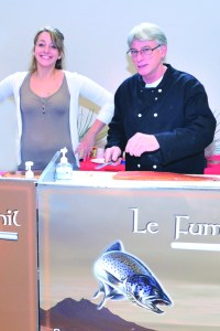 Salon-Saveur-Gourmandises-Cerny- Essonne-Saumon Fumé Fumoir de Phil