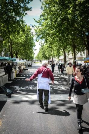Le marché bio du mail chaque mercredi à Rennes