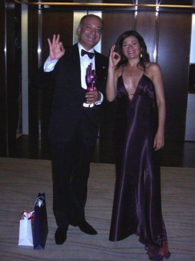 Afksendiyos Kalangos avec CGouveiac à Cinema vérité Genève