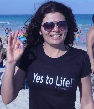 CG in vacances in Miami