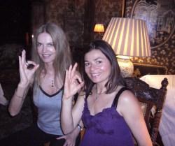 Cyriel-Claire and Celia Gouveiac Paris 2009