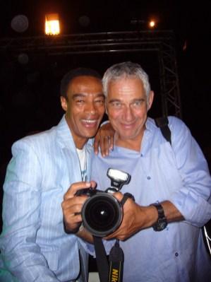 Le photographe Jean-Charles Dusanteur et jean cammille Ayac Mouens Sarturs 2008