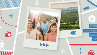 """""""Immersion France"""", an application to promote linguistic tourism"""