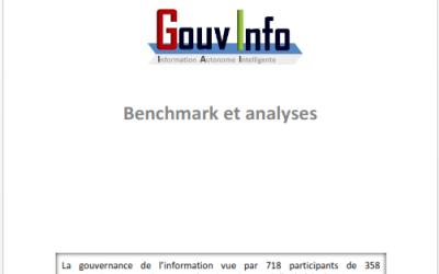 Benchmark sur la gouvernance de l'information