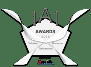Logo IAI Awards GouvInfo - 2015