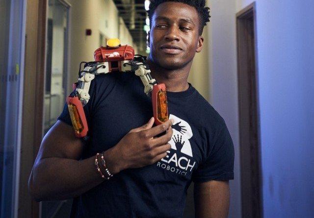 Nigerian Tech entrepreneur Silas Adekunle secured deal with Apple to sell gaming robot MekaMon