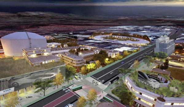 An artist's impression of the planned R50 billion Tshwane Auto City. Picture: AIDC