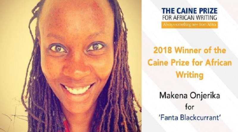 Kenyan author Makena Onjerika wins the 2018 Caine Prize for African Writing