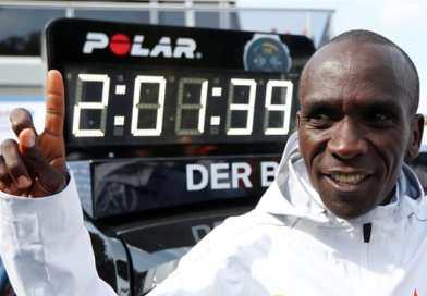Kenya: Eliud Kipchoge scores new marathon world record 2:01:39s