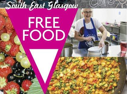 South East Glasgow Food Map