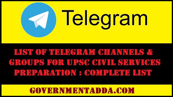list of telegram groups