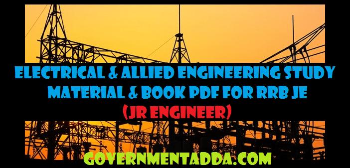 Basic Electrical Books Pdf
