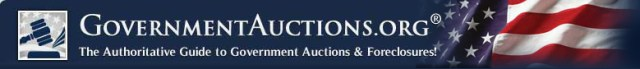 GovernmentAuctions.org® -- The Authoritative Guide to Government Auctions & Foreclosures