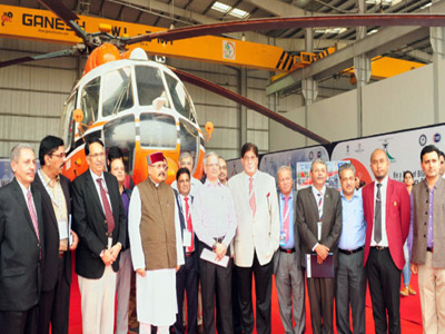 First Heli Expo India & International Civil Helicopter Conclave Inaugurated