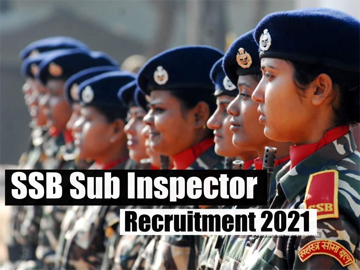 SSB SI Recruitment