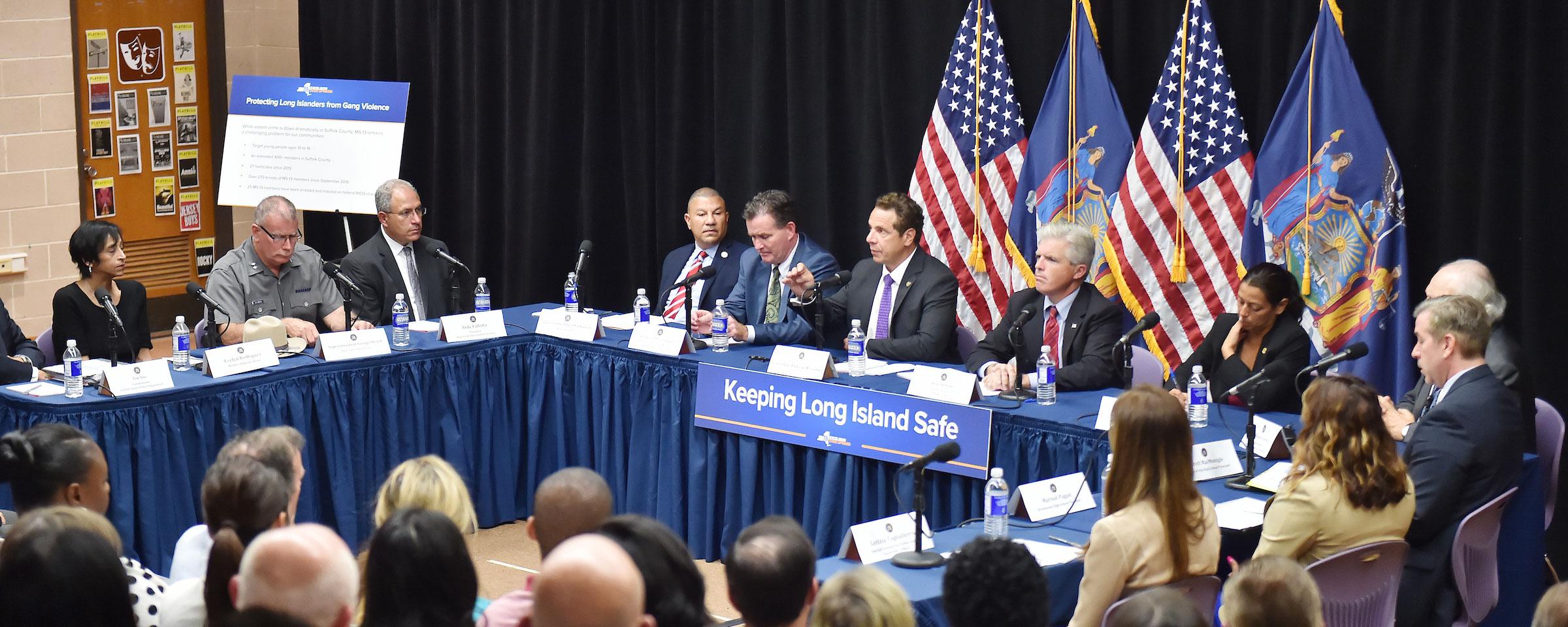 Governor Cuomo Deploys New Gang Violence Prevention Unit