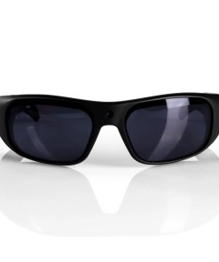 Water Resistant Camera Sunglasses Black