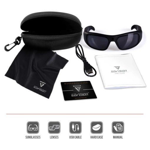 Water Resistant Camera Sunglasses 4