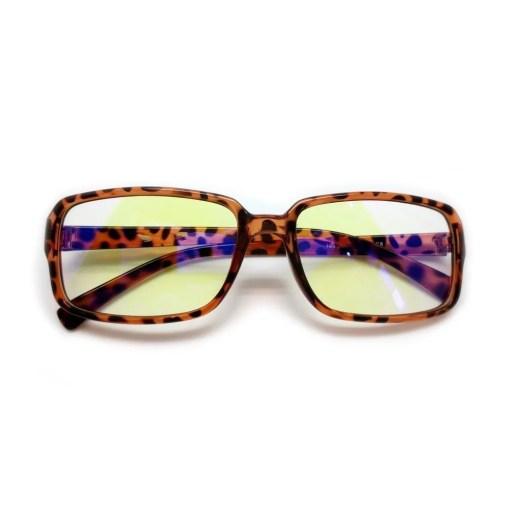 Matte Tortoise Eyeglasses 2