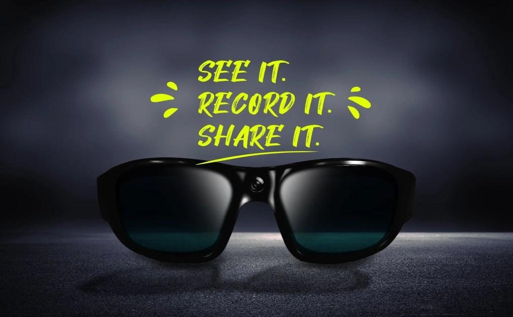 PRO S video camera sunglasses